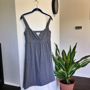 Ann Taylor LOFT Heather Grey Dress Size S